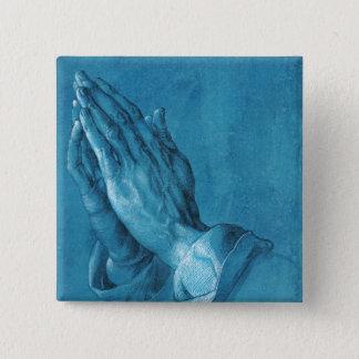 Durer Praying Hands Button