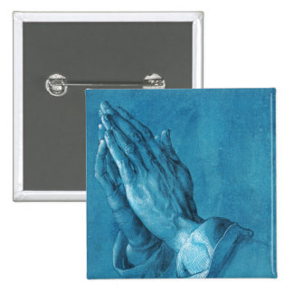 Durer Praying Hands Button