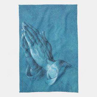 Durer Praying Hands Kitchen Towel