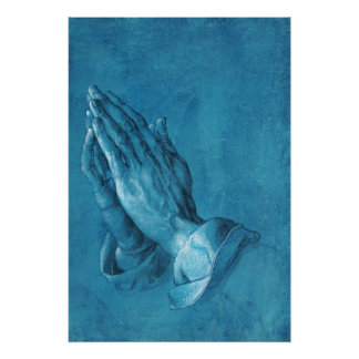 Durer Praying Hands Poster