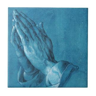 Durer Praying Hands Tile