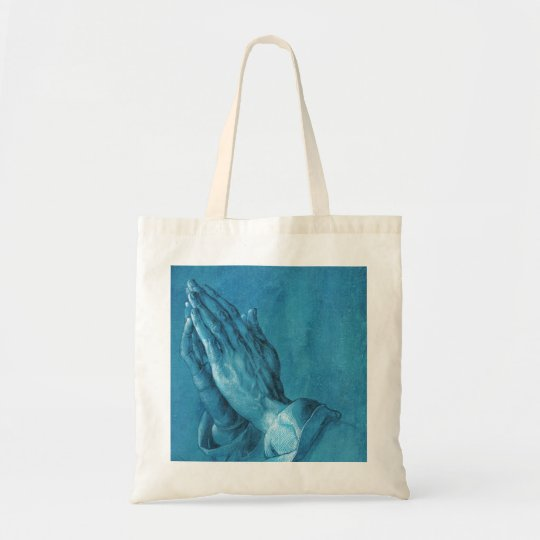 bff20f504144 Durer Praying Hands Tote Bag
