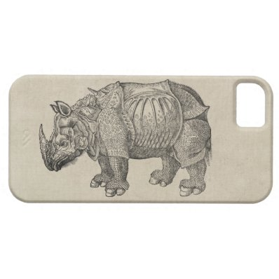Durer Rhino iPhone 5/5S Cover