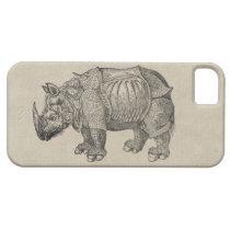 Durer Rhino iPhone SE/5/5s Case