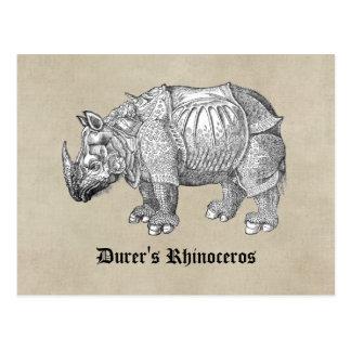 Durer Rhino Postcards
