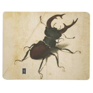 Durer Stag Beetle Personalize It With Custom Name Journal