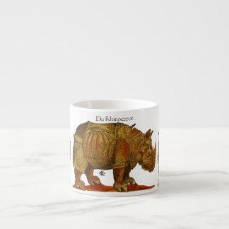 Durer's Rhino Espresso Cup