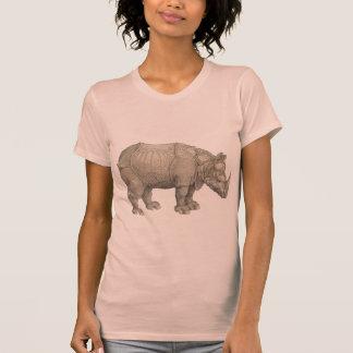 Dürer's Rhinoceros T-shirt