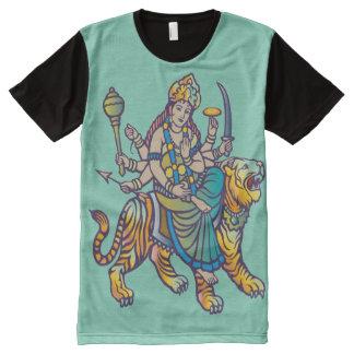 """Durga"" All-Over-Print Shirt"