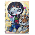 """""""Durga and the Tiger"""" Notebook"""