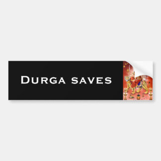 Durga Bumper Sticker - Version 1
