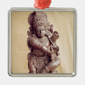 Durga, from Southern India Metal Ornament