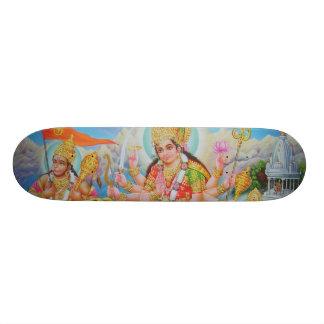 durga_hanuman_skanda skateboard
