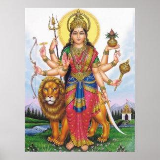 Durga Ma Poster
