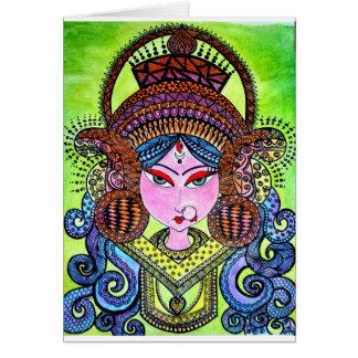 Durga Maa Card