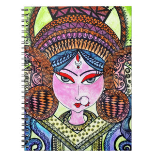 Durga Maa Notebook