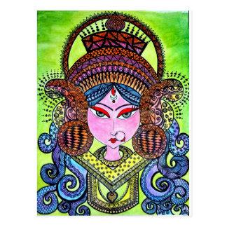 Durga Maa Postcard