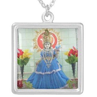 DURGA Pooja Celeberations Custom Necklace