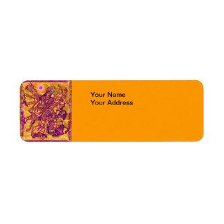 Durga Return Address Label