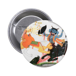 Durga slaying a demon button