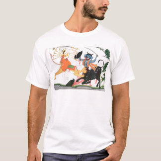 Durga slaying a demon T-Shirt