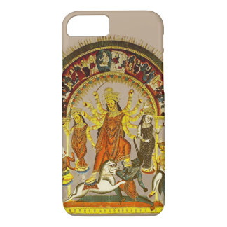 Durga, the Destroyer of Evils iPhone 7 Case