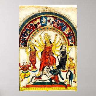 Durga, the Destroyer of Evils Poster