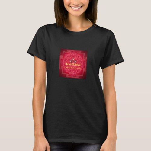Durga Yantra T_Shirt