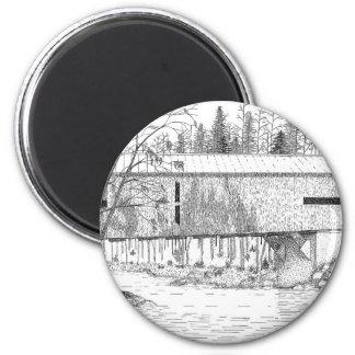 Durgin Bridge 2 Inch Round Magnet