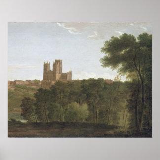 Durham, c.1790-1800 (aceite en lona) póster