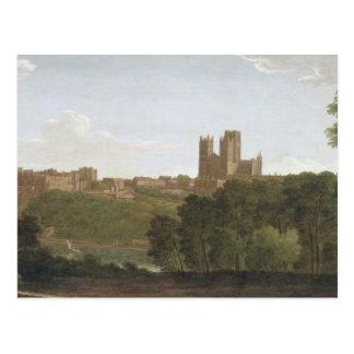 Durham, c.1790-1800 (oil on canvas) postcard