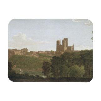 Durham, c.1790-1800 (oil on canvas) rectangular photo magnet