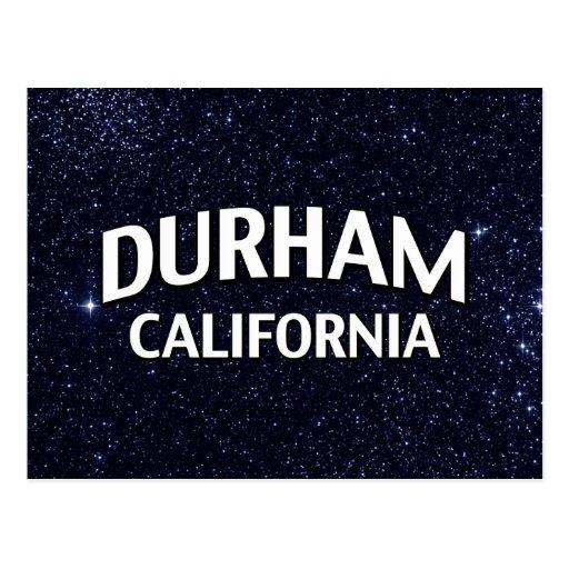 Durham California Postcard