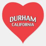 Durham California Sticker