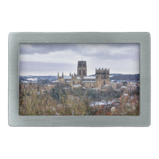 Durham Cathedral and castle Rectangular Belt Buckles