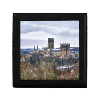 Durham Cathedral and castle Trinket Box