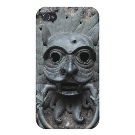 Durham Cathedral Sanctuary Knocker iPhone 4 Covers