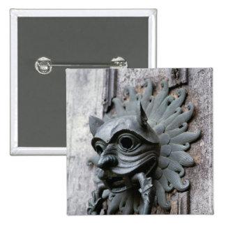 Durham Cathedral Sanctuary Knocker Pinback Button