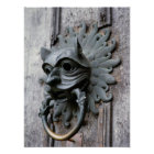 Durham Cathedral Sanctuary Knocker Poster