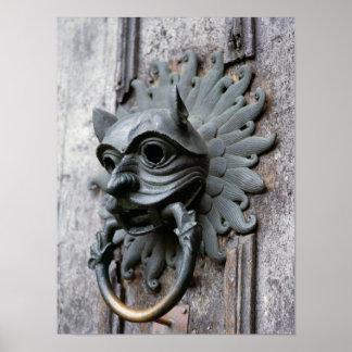 Durham Cathedral Sanctuary Knocker Print