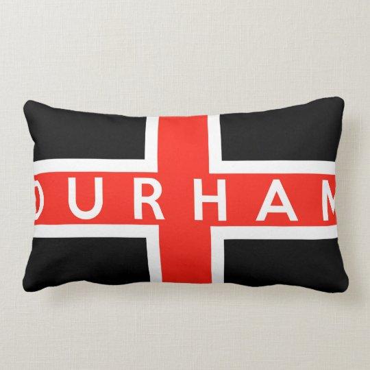 Durham City Flag England British Text Name Lumbar Pillow Zazzle Com