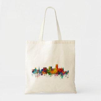 Durham England Skyline Cityscape Tote Bag
