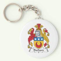 Durham Family Crest Keychain