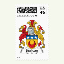 Durham Family Crest Stamps