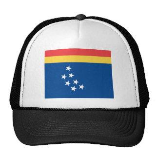 durham flag united state america north carolina trucker hat