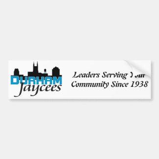 Durham Jaycee Bumper Sticker