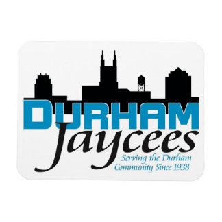 Durham Jaycee Fridge Magnet