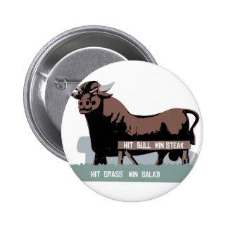 Durham NC Bull Button