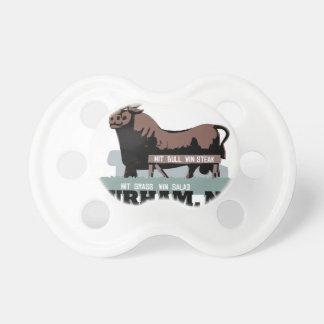 Durham NC Bull Pacifier