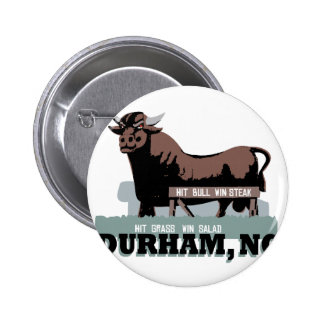 Durham NC Bull Pinback Button